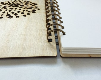 "5.75"" x 8.25"" Lemon Leaves Notebook 