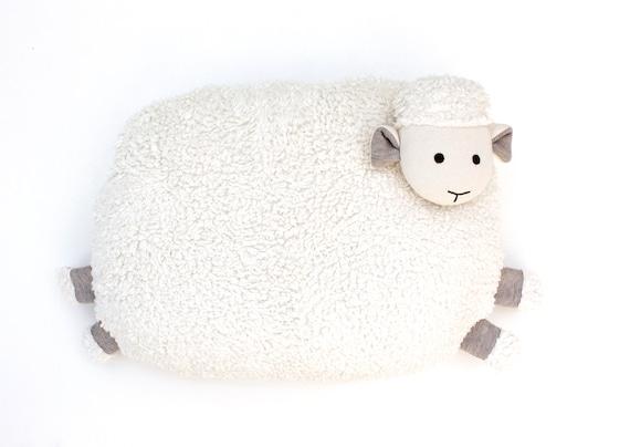 Organic Sheep Pillow baby and toddler
