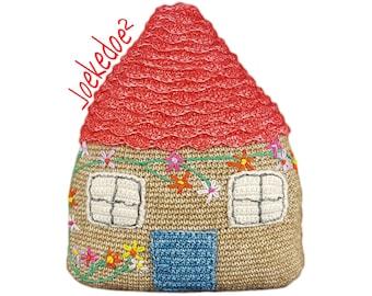 crochet pattern house in 1 piece