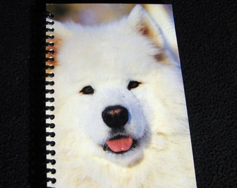 Dog Journal - Repurposed Calendar Page to Unique Journal, Diary, Sketch Book - Thoughtful Gift Idea!