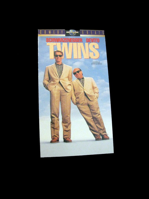 Twins 1988 Repurposed Original Vhs Sleeve To Unique Journal Etsy