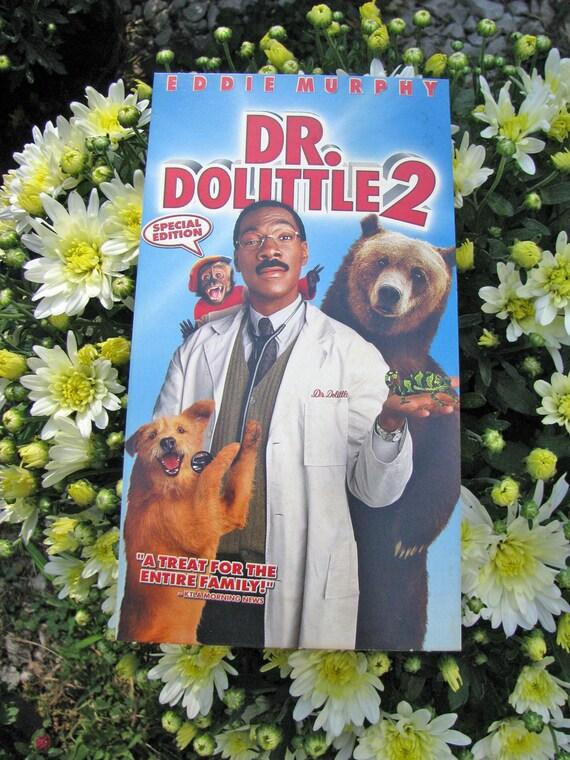 Dr Dolittle 2 2001 Repurposed Original Vhs Sleeve To Unique Etsy