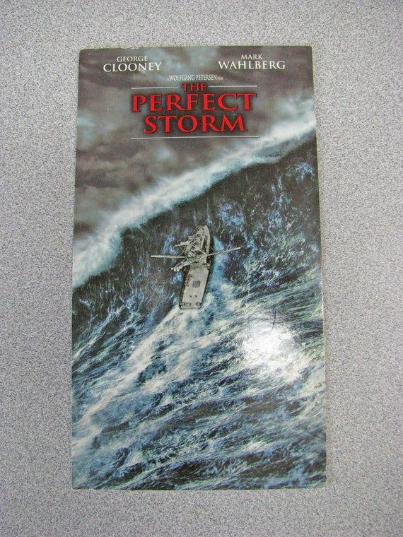 The Perfect Storm 2000 Repurposed Original Vhs Sleeve To Etsy