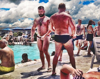 Schwule Bär Gruppe Sex