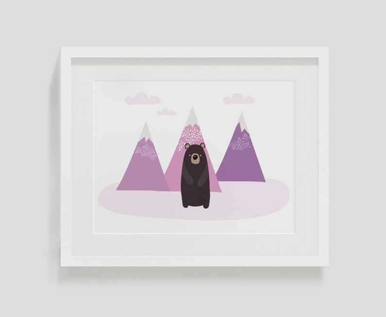 Children's room picture Bear image 0