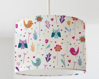 Abat-jour « Birdies de printemps »