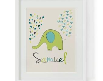 """Name image """"Little Elephant"""""""