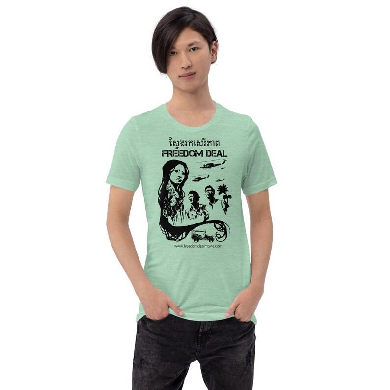 Freedom Deal Movie T-Shirt  Original Asian Supernatural Film image 0