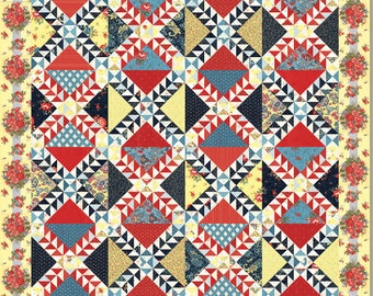 Lady Of Lake Superior Quilt Pattern - Minick and Simpson