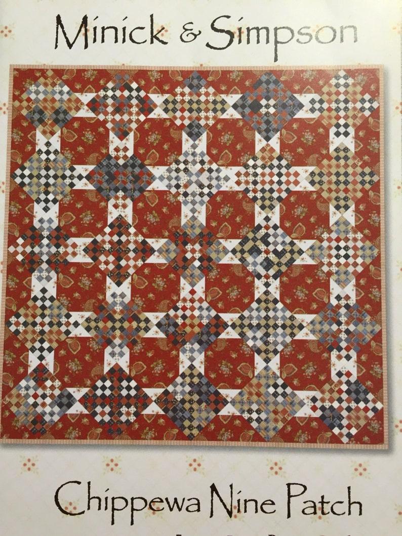 nine patch quilt pattern measurements