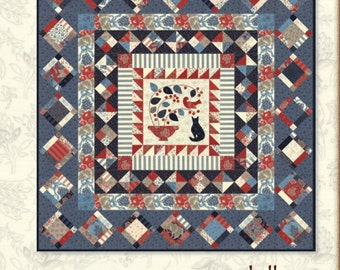 Montmorency Medallion Quilt Pattern by Minick and Simpson  -  Download