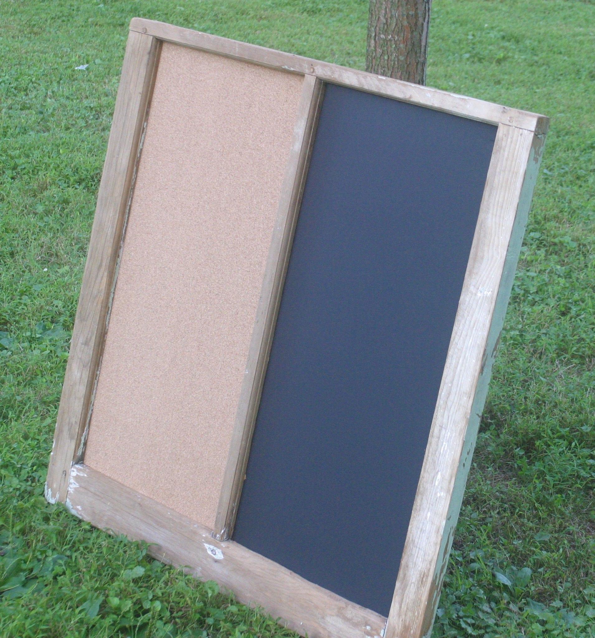 Vintage Window Memo Board Entryway Message Center Chalk | Etsy