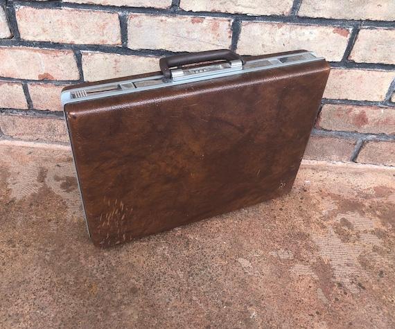Vintage Samsonite Classic 100 Briefcase, Hard Shel