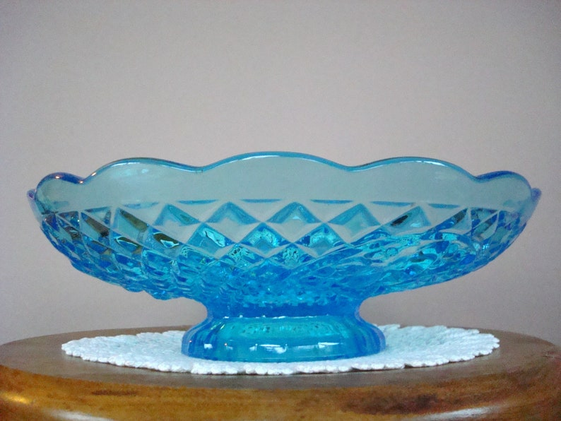 Fenton 25th Anniversary Footed Oversize Glass Art Glass