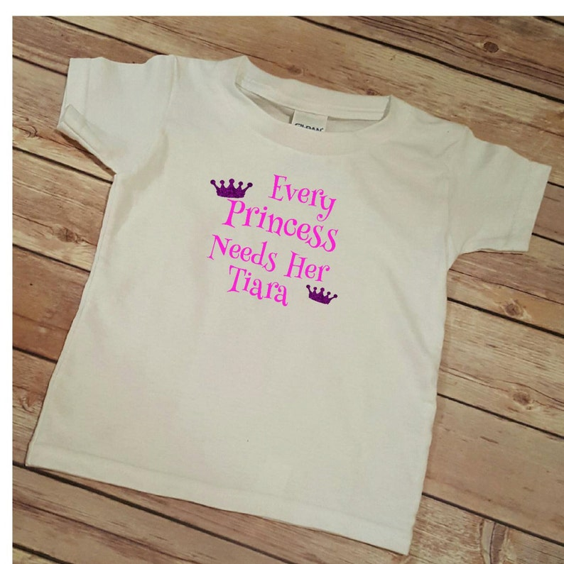 778f537e Princess T-shirt. Gift for her. Birthday. Graphic tee. | Etsy