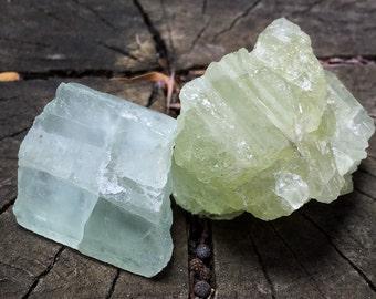RAW AQUAMARINE Gemstones (Grade A Natural) Rough Crystals Minerals Stones for Crystal Healing, Yoga, Meditation, Reiki, Throat Chakra