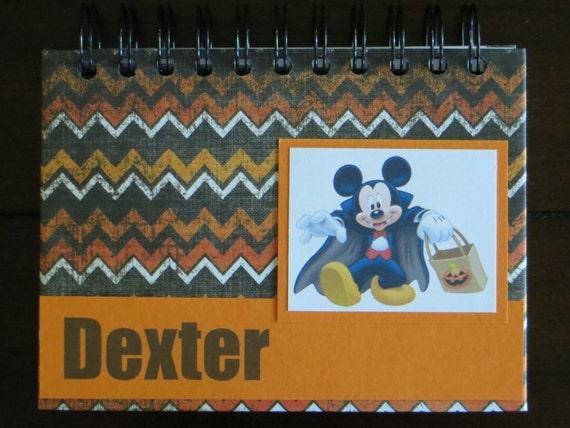 Autógrafo de Halloween de Disney Personalizado Libro