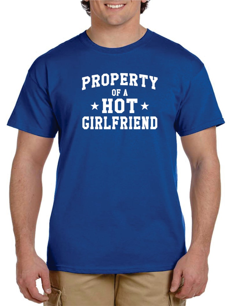Funny Boyfriend Gift Gifts For New PROPERTY Of A HOT GIRLFRIEND Distance Anniversary Birthday