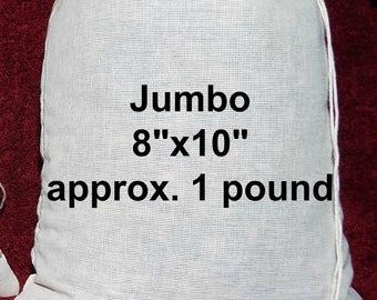 "Organic Navajo-Churro Sheep Manure 1 lb. Tea Bags 8""x10"" - 1 Pound Each! -  FREE SHIPPING"