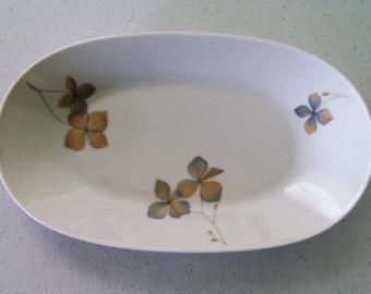 Rosenthal Wood Nymph Celery Plate