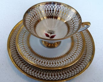 Winterling Bavaria Germany Vintage Plate Cup Saucer Trio