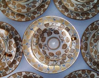 Weimar Germany Inge 25 Piece Set China Set