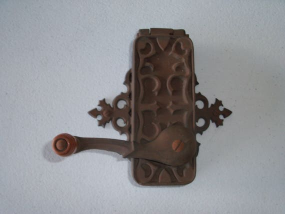 dazey americana can opener cast iron wall mounted vintage etsy