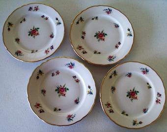 Winterling Bavaria Dresden Set Of 4 Salad Plates