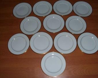 Noritake Guilford Set Of Twelve Bread & Butter Plates