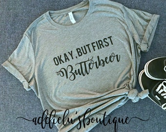 wizard - Harry potter inspired - universal studios -butterbeer - t-shirt - cute shirt - harry potter world inspired