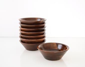 mid century salad bowls walnut bowls wood bowl set wooden salad bowls wonderful set of mid century walnut bowls danish modern set of 4 - Wooden Salad Bowl Set