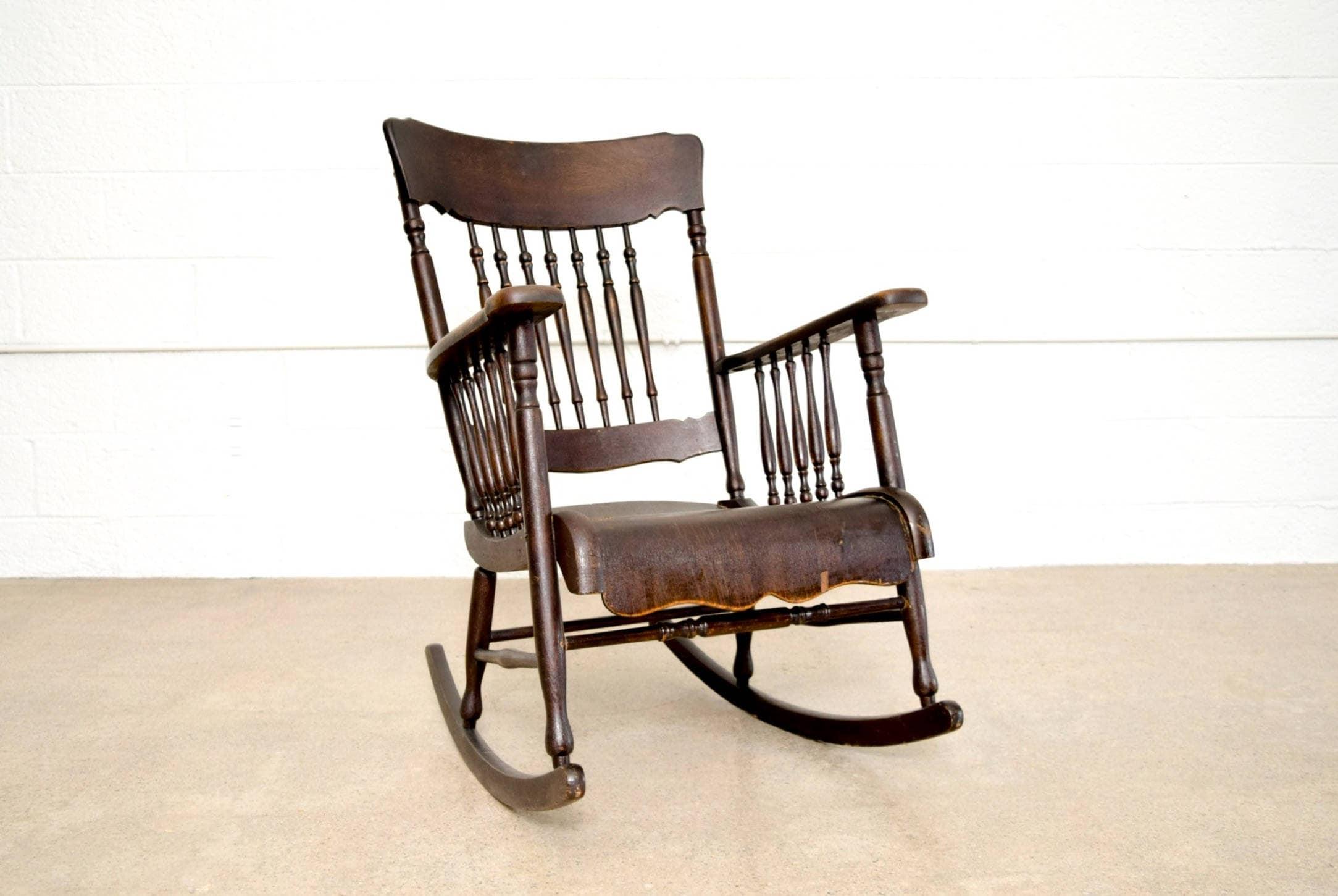 Antique Victorian Rocking Chair