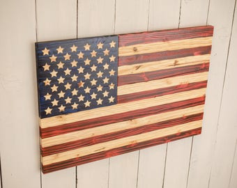American USA Flag Chisel Texture with FREE Shipping.