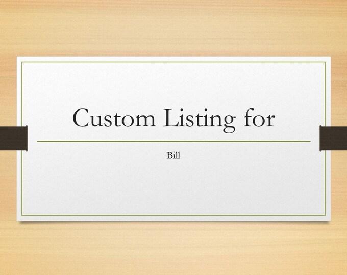 Custom Listing for Bill: Chessboard End Table