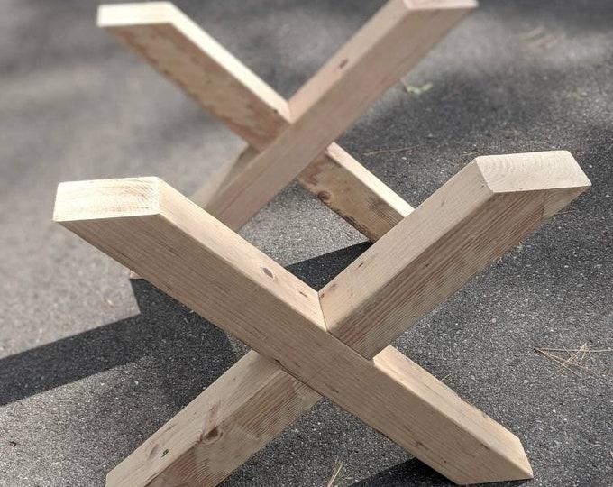 Farmhouse Table Legs Rustic X DIY table legs