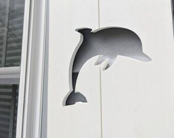 PVC dolphin Exterior Shutter: Customize your shutter height