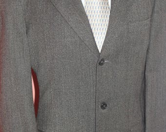 Joseph Abboud Collection 100% Wool Blazer Jacket Size 40  SHARP!!