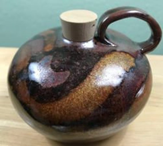 Charming Round Bottle with Cork