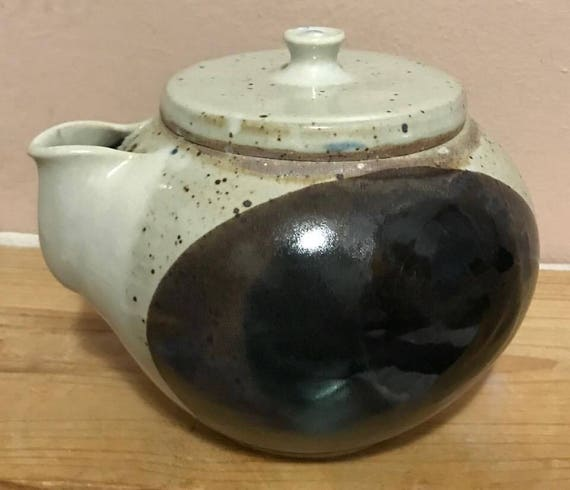 Ceramic Japanese Inspired Handless Tea pot
