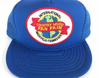 4af693a5e Vintage nashville hat | Etsy