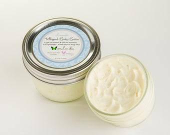 Whipped Butter Body & Face / Vegan Skin Cream 8oz