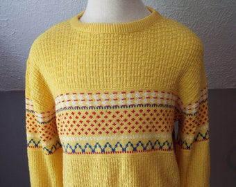 Vintage Mens Long Sleeve Sweater by Jantzen