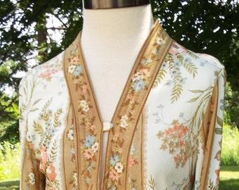 Beautiful Floral Short Sleeve Dress