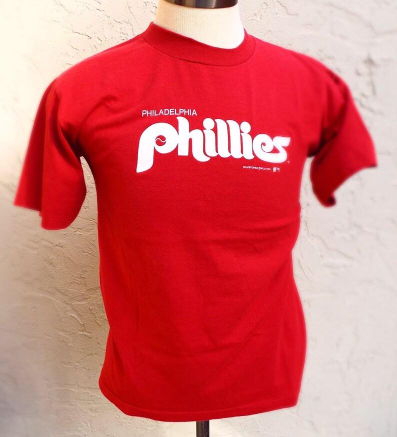 832748d3 Vintage Philadelphia Phillies T Shirt   Etsy