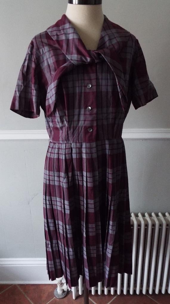 Vintage Short Sleeve Dress by Nancy Greer