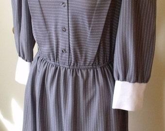 Vintage Tagless Grey Dress