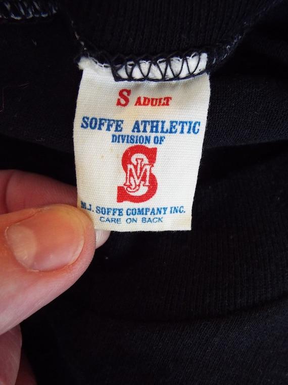 ... T-Shirt Athletic Airborne Vintage armée par Soffe Athletic T-Shirt  1e419c ... 6de0f25cda15