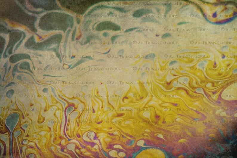 10 Digital SOAP GRUNGE TEXTURES  Overlays Set 6  Fine Art  Textured  Multi Colour  Marble Paper  Photography  Rainbow  Scrapbooking