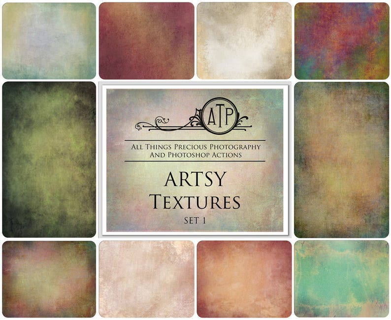 10 Fine Art TEXTURES  ARTSY Set 1  / Photography High Res image 0