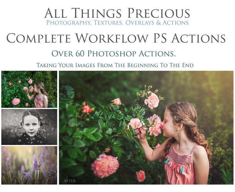 60 Fine Art COMPLETE WORKFLOW PROFESSIONAL Photoshop Actions. image 0